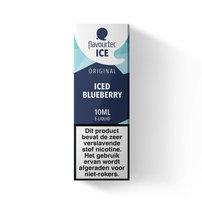 ICED BLUEBERRY - Flavourtec Iced Series e-liquid - beperkte houdbaarheid t.h.t. 24.10.2020