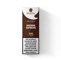 HAVANA SUPREME - Flavourtec e-liquid (sigaar) - beperkte houdbaarheid t.h.t. 23.10.2020