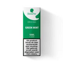 GREEN MINT - Flavourtec e-liquid (munt) - beperkte houdbaarheid t.h.t. 24-10-2020