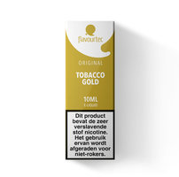 TOBACCO GOLD - Flavourtec e-liquid - Beperkte houdbaarheid t.h.t. 30-09-2020