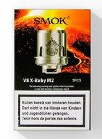SMOK V8 X-Baby M2 coils 0.25Ohm (3 stuks)