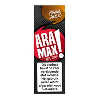 VIRGINIA TOBACCO - Aramax Vape Juice e-liquid - beperkte houdbaarheid t.h.t.12-11-2020