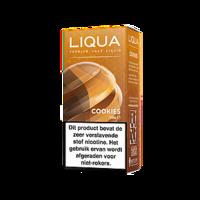 COOKIES (Elements) - LiQua e-liquid (koekjes) - beperkte houdbaarheid (t.h.t. 31.01.2020)