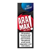 MAX BLUEBERRY - Aramax Vape Juice e-liquid (bosbessen)