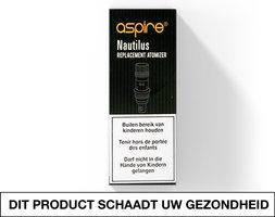 Aspire Nautilus 2 Bottum Vertical Coils (BVC) 0.7ohm (5 stuks)