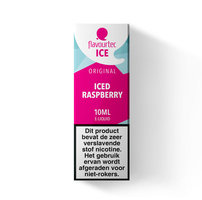ICED RASPBERRY - Flavourtec Iced Series e-liquid