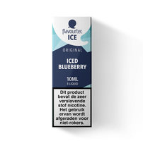 ICED BLUEBERRY - Flavourtec Iced Series e-liquid