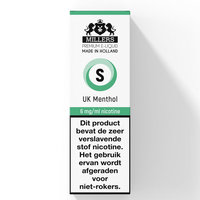 UK MENTHOL - Millers Juice e-liquid