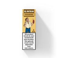 EXPLOSIVOS - El Patron e-liquid (perzik, aarbei en limoen)