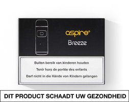 Aspire Breeze Pocket AIO, elektrische sigaret