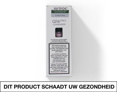 Justfog Q16 Pro Clearomizer voor elektronische sigaret