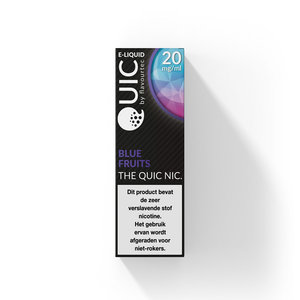 BLUE FRUITS - Flavourtec Quic Nic Salt e-liquid