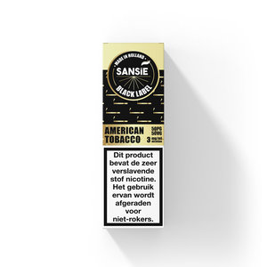 American Tobacco - Sansie Black Label - 10ml
