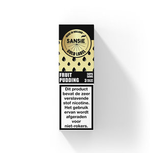 Fruit Pudding - Sansie Gold Labbel - 10ml