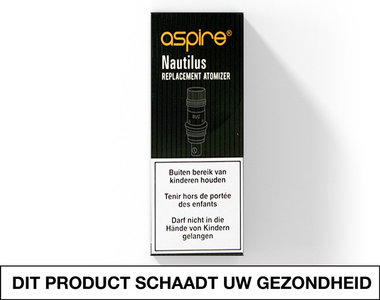 ASPIRE NAUTILUS 2 0.7OHM COILS - DOOSJE