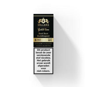 Millers Juice - Goldline - Best Bam Buddhapest- 50%PG/50%VG